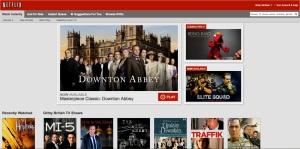 Netflix Splash Page