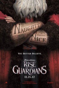 Rise Of The Guardians poster 1