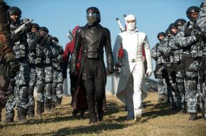 Cobra Commander and White Ninja Guy