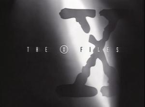 X-Files Opening Logo