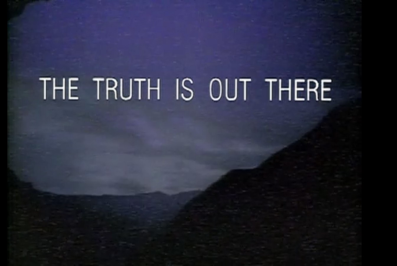 """X-File A Day – """"Co...X Files The Truth Is Out There Wallpaper"""
