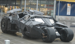 Christopher Nolan Batmobile