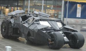 Christopher Nolan Batmobile