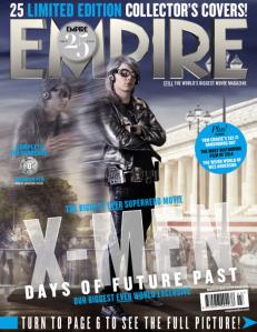 Empire Magazine cover - Quicksilver