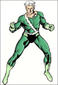 Quicksilver (green costume)