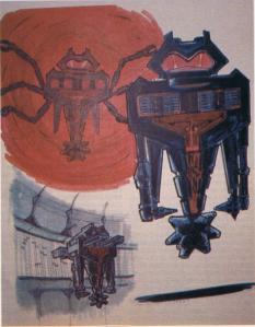 Robert McGinnis original concept of Maximillian