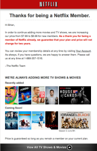 Netflix Notice