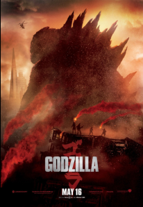 Godzilla (2014) movie poster