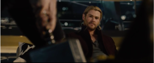 Thor's expression