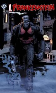I, Frankenstein comic cover