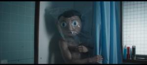Frank shower scene