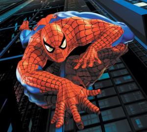 Spider-Man, climbing