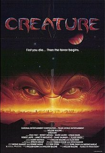 Creature movie poster