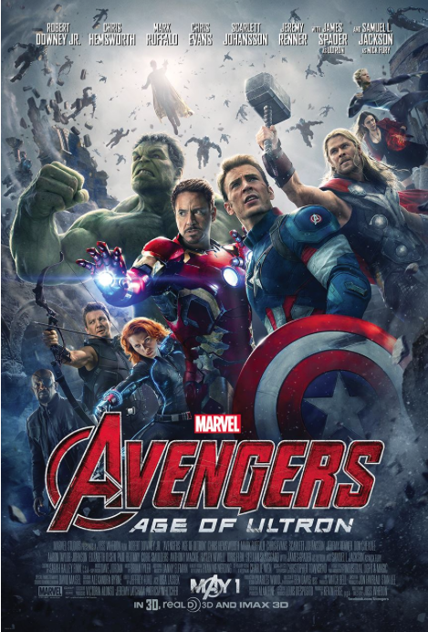 The Avengers: Age Of Ultron International poster