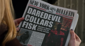 New York Bulletin - Daredevil edition