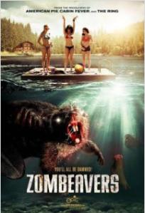 Zombeavers movie poster