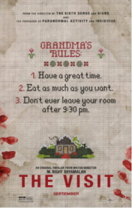 The Visit movie poster